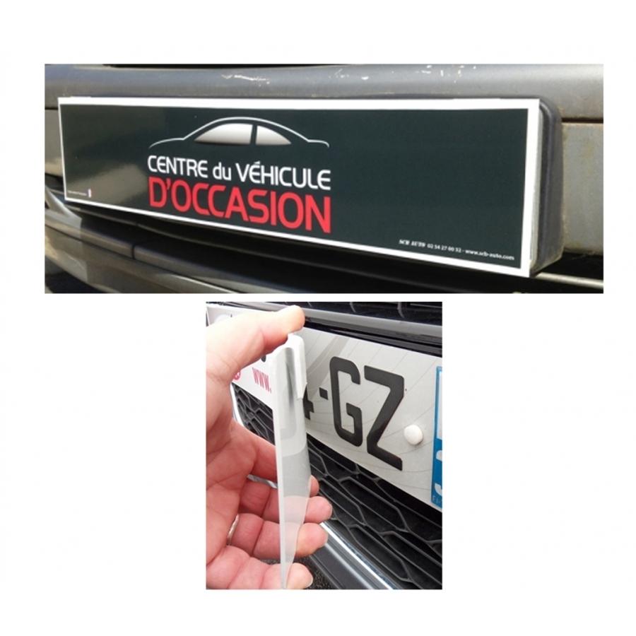 cache plaque d 39 immatriculation accessoires phosphorescence. Black Bedroom Furniture Sets. Home Design Ideas