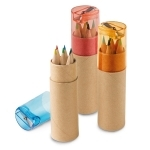 Crayons de couleur Taille-crayons