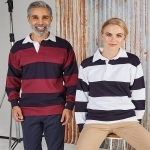 Polo Rugby Manches Longues 300G
